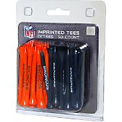 Team Golf Denver Broncos Golf Tees – 50 Pack