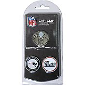 Team Golf New England Patriots Two-Marker Cap Clip