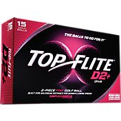 Top Flite D2+ Diva Pink Golf Balls – 15-Pack – Prior Generation