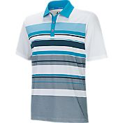 adidas Men's climacool Graphic Stripe Golf Polo