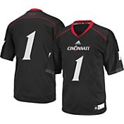 adidas Men's Cincinnati Bearcats #1 Black Replica Football Jersey
