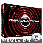 Maxfli Revolution Control Personalized Golf Balls