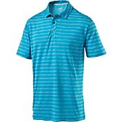 PUMA Men's Essentials Mixed Stripe Golf Polo