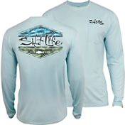 Salt Life Men's Scheme SLX Uvapor Long Sleeve Shirt