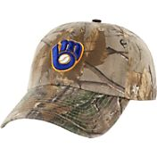 '47 Men's Milwaukee Brewers Realtree Camo Clean Up Adjustable Hat