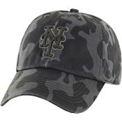 '47 Men's New York Mets Flintlock Franchise Camo Fitted Hat