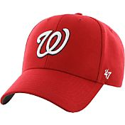 '47 Men's Washington Nationals MVP Red Adjustable Hat