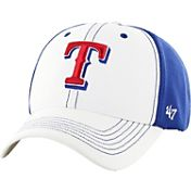 '47 Men's Texas Rangers Cooler MVP White/Royal Adjustable Hat