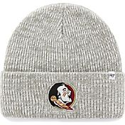 '47 Men's Florida State Seminoles Heathered Grey Brain Freeze Cuffed Knit