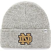 '47 Men's Notre Dame Fighting Irish Heathered Grey Brain Freeze Cuffed Knit