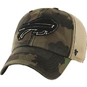 '47 Men's Buffalo Bills Burnett Adjustable Camouflage Hat