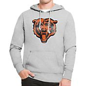 '47 Men's Chicago Bears MVP Headline Pullover Grey Hoodie