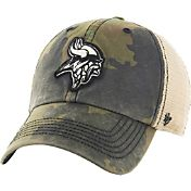 '47 Men's Minnesota Vikings Burnett Adjustable Camouflage Hat