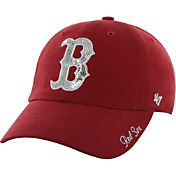 '47 Women's Boston Red Sox Sparkle Red Adjustable Hat