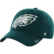 '47 Women's Philadelphia Eagles Sparkle Adjustable Green Hat