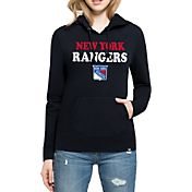 '47 Women's New York Rangers Headline Pullover Navy Hoodie