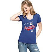 '47 Women's New York Rangers Club Royal Scoop Neck T-Shirt