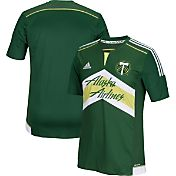 adidas Men's 2015 Portland Timbers Primary Replica Jersey