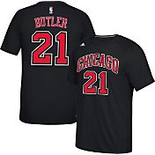 adidas Men's Chicago Bulls Jimmy Butler #21 climalite Black T-Shirt