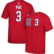 adidas Men's Los Angeles Clippers Chris Paul #3 climalite Red T-Shirt