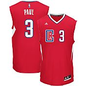 adidas Men's Los Angeles Clippers Chris Paul #3 Alternate Red Replica Jersey