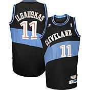 adidas Originals Men's Cleveland Cavaliers Zydrunas Ilgauskas #11 Black Throwback Swingman Jersey