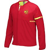 adidas Men's Atlanta Hawks On-Court Red Jacket