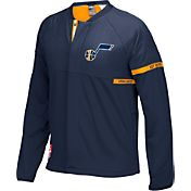 adidas Men's Utah Jazz On-Court Navy Jacket