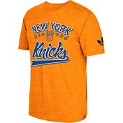 adidas Originals Men's New York Knicks Orange Tri-Blend T-Shirt