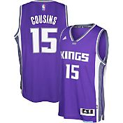 adidas Men's Sacramento Kings DeMarcus Cousins #15 Road Purple Swingman Jersey