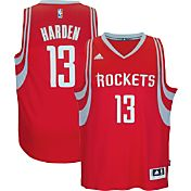 adidas Men's Houston Rockets James Harden #13 Road Red Swingman Jersey
