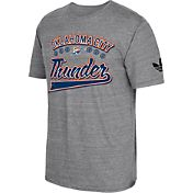 adidas Originals Men's Oklahoma City Thunder Grey Tri-Blend T-Shirt