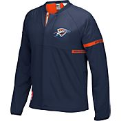 adidas Men's Oklahoma City Thunder On-Court Navy Jacket