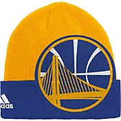 adidas Men's Golden State Warriors Cuffed Knit Hat