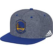 adidas Men's Golden State Warriors Grey Adjustable Snapback Hat