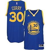 adidas Men's Golden State Warriors Steph Curry #30 Road Royal Swingman Jersey