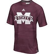 adidas Men's Mississippi State Bulldogs Maroon Sideline Training T-Shirt