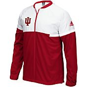 adidas Men's Indiana Hoosiers Crimson On-Court Basketball Jacket