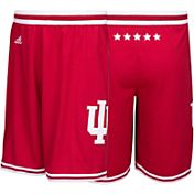 adidas Men's Indiana Hoosiers Crimson Replica Basketball Shorts