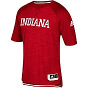 adidas Men's Indiana Hoosiers Shooter Crimson Short Sleeve T-Shirt