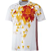 adidas Men's Euro 2016 Spain Replica Heat Map Away Jersey