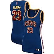 adidas Women's Cleveland Cavaliers LeBron James #23 Alternate Navy Replica Jersey