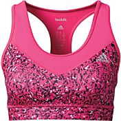 adidas Women's techfit Graffiti Print Sports Bra