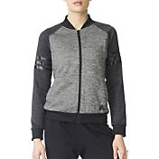 adidas Women's Team Issue Fleece Baseball Jacket