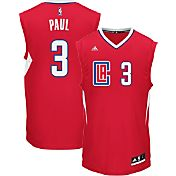 adidas Youth L.A. Clippers Chris Paul #3 Road Red Replica Jersey