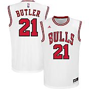 adidas Youth Chicago Bulls Jimmy Butler #21 Home White Replica Jersey