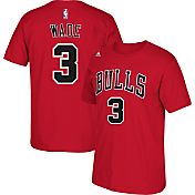 adidas Youth Chicago Bulls Dwyane Wade #3 Red Performance T-Shirt