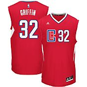 adidas Youth L.A. Clippers Blake Griffin #32 Road Red Replica Jersey