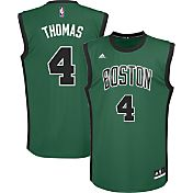 adidas Youth Boston Celtics Isaiah Thomas #4 Alternate Kelly Green Replica Jersey