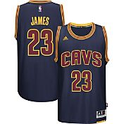 adidas Youth Cleveland Cavaliers LeBron James #23 Alternate Gold Swingman Jersey